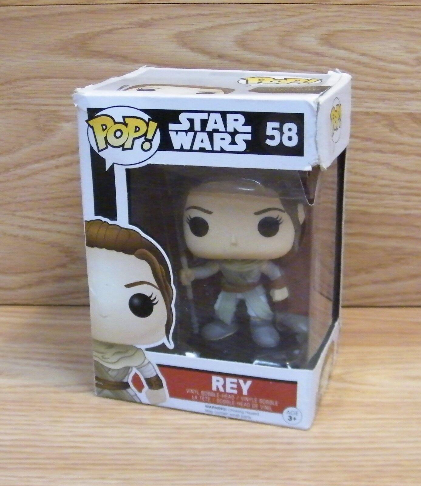 Vinyl Figure Rey #58 Genuine Star Wars Pop