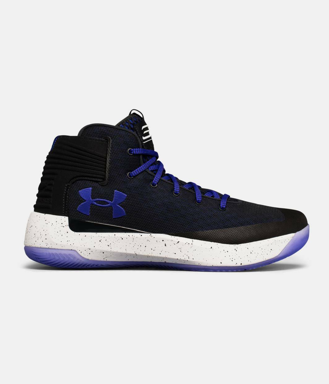 Under Armour Men/'s Curry 3 Zero Athletic Basketball Shoes Anthracite//Purple