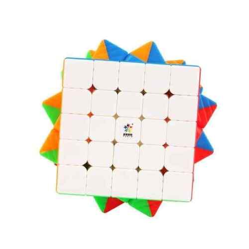 stickerless Zauberwürfel Speedcube Magic Cube Magi... YuXin Black Kirin V2 5x5