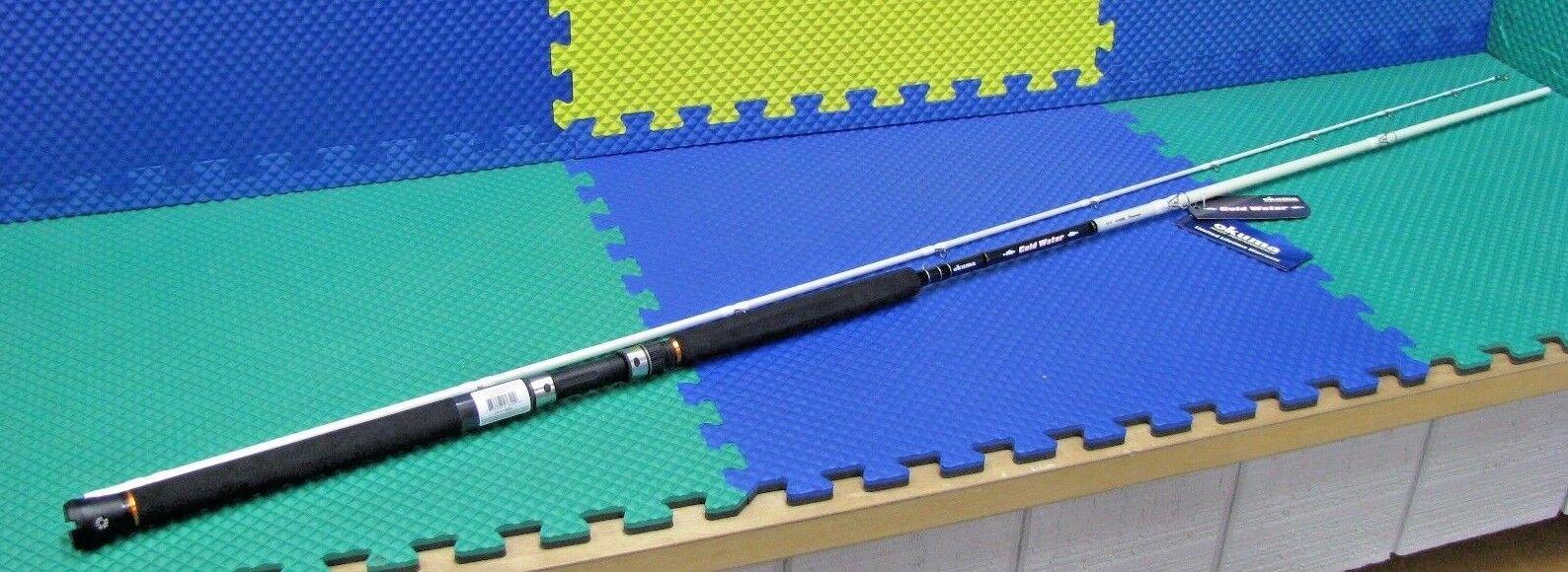 Okuma Cold Water Downrigger Trolling Rod 10' 6  M Action 2 PC CW-C-1062M