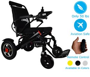 Leichte-elektrische-Rollstuhl-faltbar-Power-Rollstuhl-motorisierte-Mobilitaet