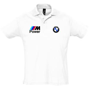 Homme-BMW-M-SPORT-POWER-Performance-Club-Polo-S-XXL
