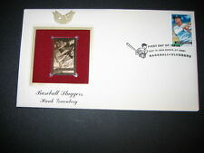 2006 Hank Greenberg Baseball Sluggers 22kt Gold GOLDEN Replica Cover STAMP