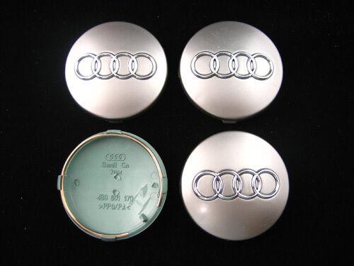 Tt A1 A2 A3 A5 A4 A6 A8 S-line 4x 60mm Gris Audi Rueda De La Aleación Centro Tapacubos