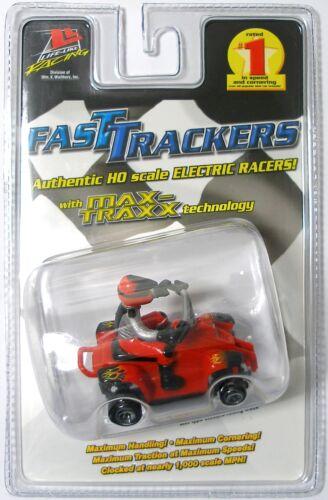 2011 Life-Like QUAD RUNNERS ATV 4X4 HO Slot Car 1,000 MPH Very Fast 9624 Red