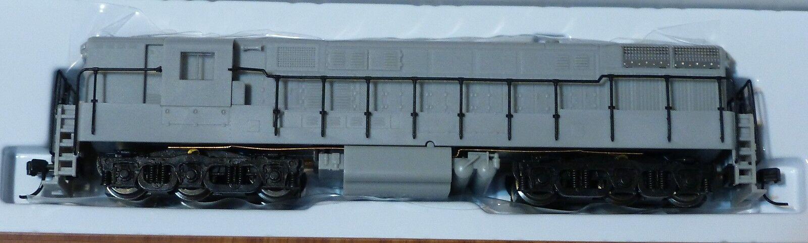 ATLAS N  49560 DIESEL FM H2466 Trainmaster fase 2 alimentatoUNDECORATED