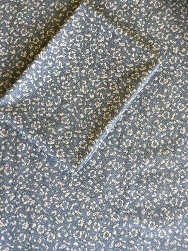 Vintage Laura Ashley Tissu de coton Wild Cherry Smoke Blue Patchwork Artisanat