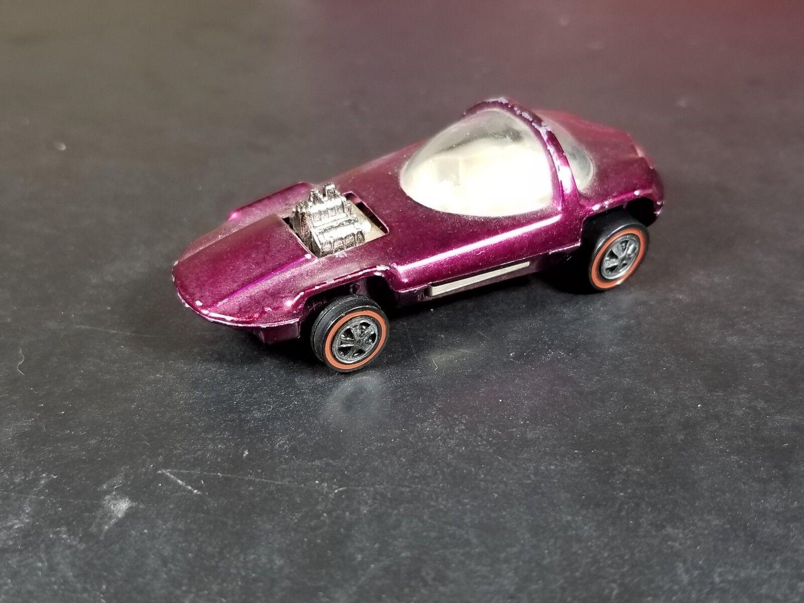 Hot Wheels Silhouette Silhouette Silhouette Redline Vintage US Magenta c2d780
