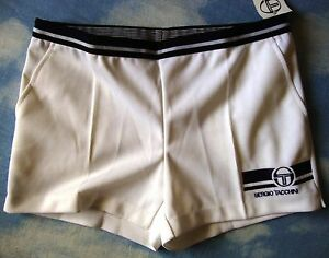 SHORTS-TENNIS-vintage-80-039-s-SERGIO-TACCHINI-team-tg-50-L-New-Made-in-Italy-RARE