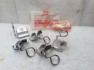 nos new oem kawasaki clutch cable clamp kz1000 shaft 1979. Black Bedroom Furniture Sets. Home Design Ideas