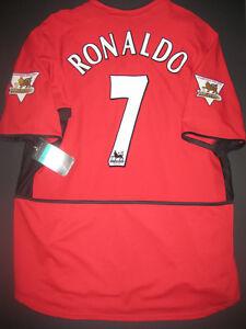 3c9b4f62b98 Image is loading New-2003-2004-Nike-Manchester-United-Cristiano-Ronaldo-