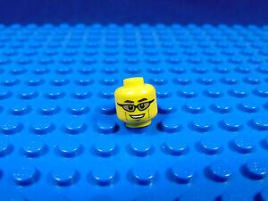 LEGO-MINIFIGUR<wbr/>ES SERIES 8,9,10[11] X 1 HEAD FOR MOUNTAIN CLIMBER SERIES 11 PARTS