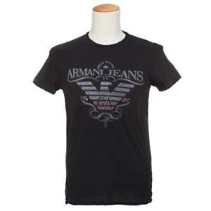 Détails Shirt Jeans Armani Sur T Noir 8n0wPNkOX