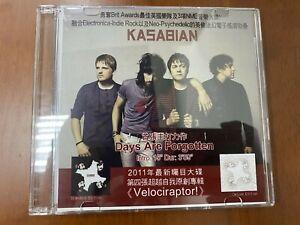 KASABIAN DAYS ARE FORGOTTEN PROMO CD SINGLE W/LYRICS SHEET ...