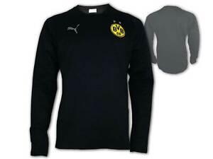 Puma-Borussia-Dortmund-Casual-Sweatshirt-schwarz-BVB-09-Sweat-Pullover-S-3XL