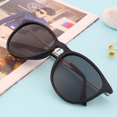 Unisex Womens Mens Retro Vintage Cat Eye Round Glasses Metal Frame Sunglasses IG