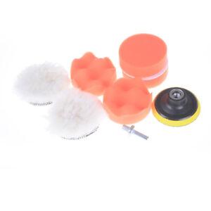 8pcs-3-034-Car-polishing-pad-set-Buffer-Pad-Drill-Set-Kit-Polishing-sponge-Wheel-X
