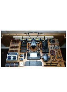 Yuneec-tifon-H-Pro-4-2-Baterias-Multicharger-2-controladores-extras-Repuestos