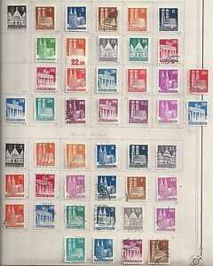 Allied Zone stamps 1948 COLLECTION of 46 stamps HIGH VALUE!