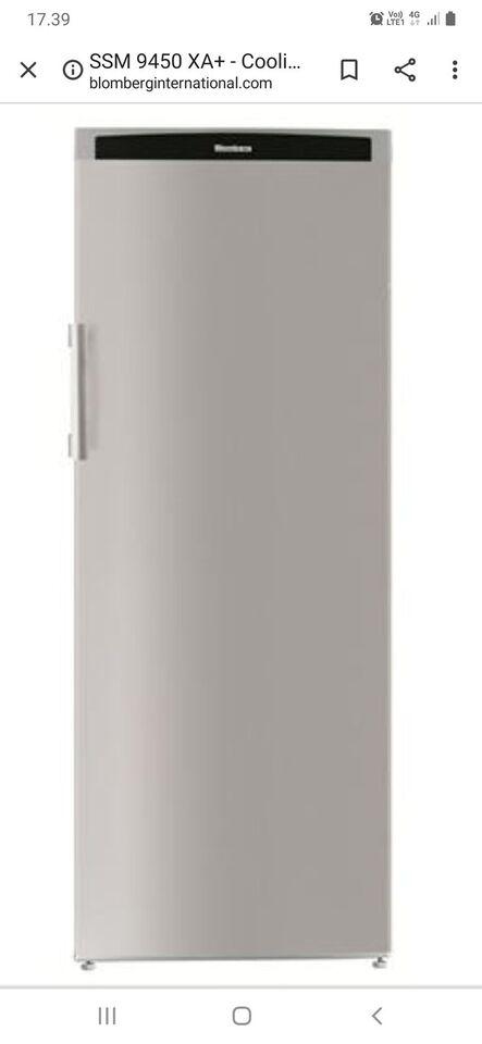 Andet køleskab, Blomberg ssm9450xa+, 260 liter