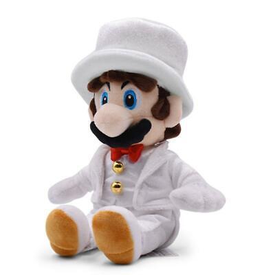 Super Mario Odyssey Mario Wedding Dress Plush Doll Toys Gift 9 inch