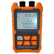 Fiber Optic Cable Tester Portable Optical Power Meter Fcscst Universal