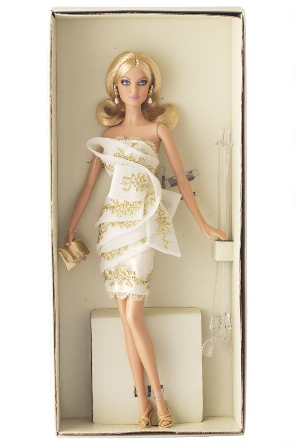 Platinum Label Glimmer of of of oro Muñeca Barbie condición de menta sin reserva en Mattel embarcador  Tienda 2018