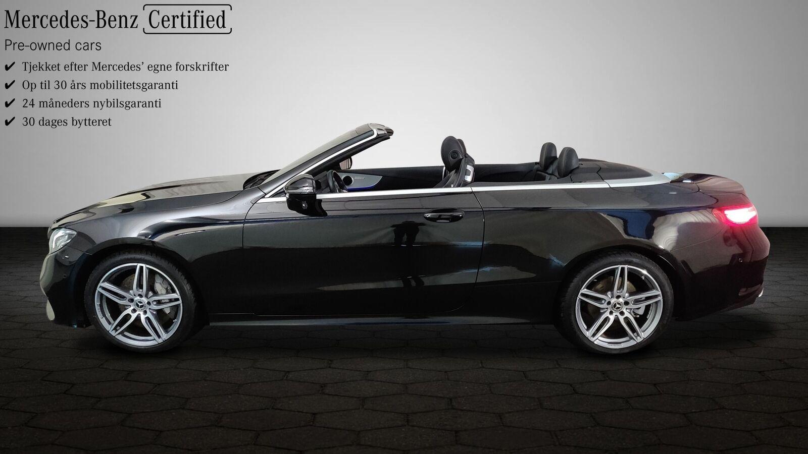 Mercedes E350 2,0 Cabriolet aut. 2d - 899.800 kr.