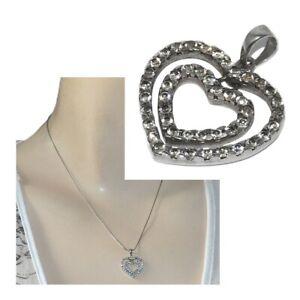 Pendentif-double-coeur-en-argent-massif-925-zirconium-blanc-bijou