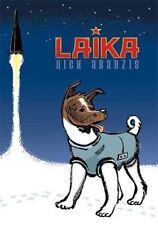 Laika by Nick Abadzis (Paperback) space cosmonaut signed