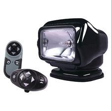 Golight Stryker Searchlight 12V w/Wireless Dash & Handheld Remote - Black
