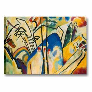 Quadri famosi Wassily Kandinsky I stampa su tela canvas riproduzioni d/'arte