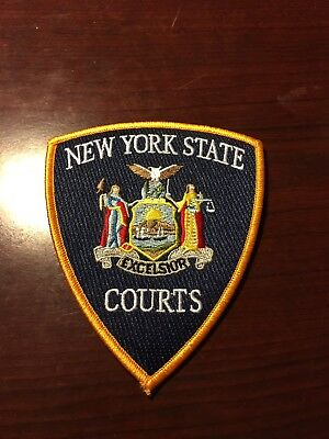 New York State Courts Shoulder Patch