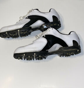 Mens-Nike-Air-Tour-TW-Golf-Shoes-Tiger-Woods-Size-12-White-and-Black