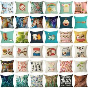 249-Style-Cotton-Linen-Home-Decor-Pillow-Case-Sofa-Waist-Throw-Cushion-Cover