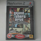 PS2 Game Grand Theft Auto: San Andreas -- Platinum Edition (Sony PlayStation 2)