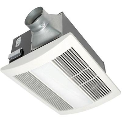Bath Fan Light Heater 110 Cfm Ceiling Exhaust Bathroom