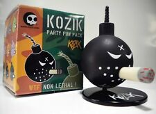 "BLACK ANARCHY Bomb 1.5"" mini vinyl figure w/Stand Kozik WTF Party Fun Pack Toy2R"