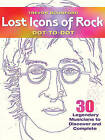 Lost Icons of Rock Dot-to-Dot: 30 Legendary Musicians to Discover and Complete by Trevor Bounford (Paperback, 2017)