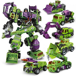 NBK Devastator Transformation Boy Toy Oversized Action Figure
