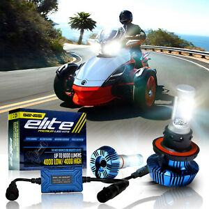 LED-Elite-Headlight-Bulbs-Conversion-Kit-for-the-Can-Am-Spyder-ST-STS-RS-Pair