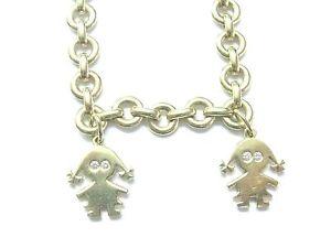 Schrieber-18Kt-Lily-amp-Chloe-Diamond-Yellow-Gold-Charm-Bracelet-12Ct