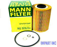 BMW Engine Oil Filter  11 42 1 730 389  MANN HU926/3x