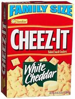 Cheez-it Baked Snack Crackers, White Cheddar, 21-ounce Boxes Pack Of 3