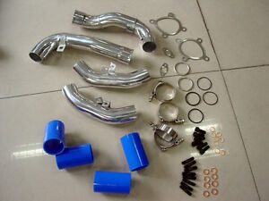 Details about A6 2 7L Allroad Audi RS4 S4 B5 Turbo Inlet Pipes BLUE K04