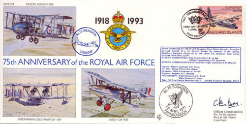 75th Anniverary of the RAF - RAF (75) 04 - No. 70 Squadron - 100 Only !