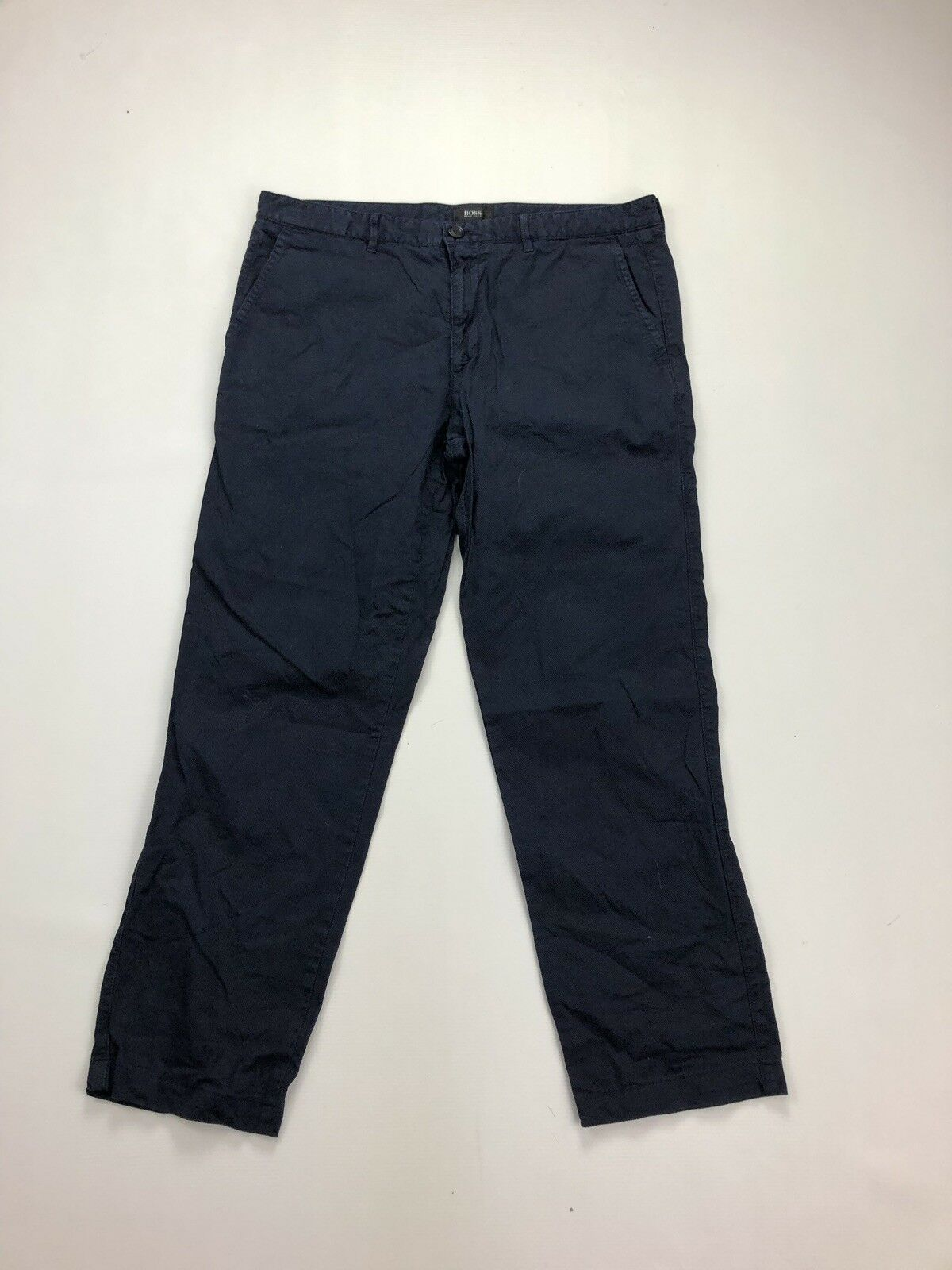 HUGO BOSS Trousers - W34 L28 - Navy - Great Condition - Men's
