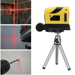 3D Level Leveling Point//Line//Cross Horizontal Vertical 360° W// Tripod F5B6