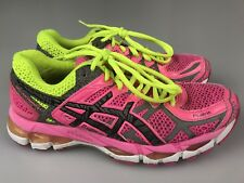 buy online 7382a 186ec ... shop asics gel kayano 21 lite show womens size 7.5 running shoes pink  yellow t4n5n 6d683