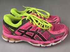 buy online 5b32a 2ba69 ... shop asics gel kayano 21 lite show womens size 7.5 running shoes pink  yellow t4n5n 6d683